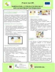 Normas para a Utilização Segura e Eficaz dos Produtos Perigosos