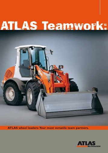 ATLAS wheel loaders