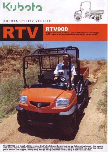 Kubota RTV900.pdf - Agriquip
