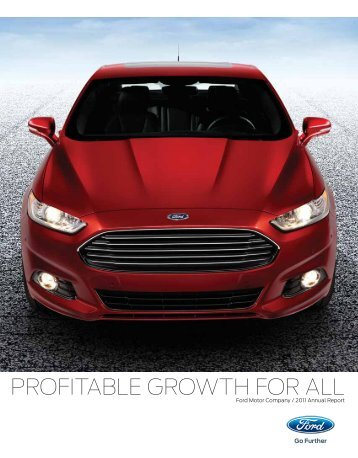 Annual Report 2011 - Ford Motor Company