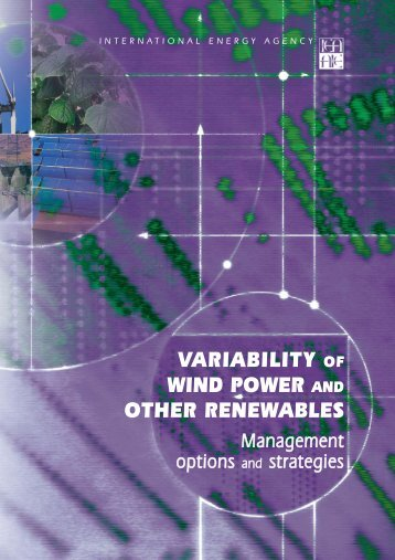 Variability of Wind Power and Other Renewables - Management ...