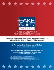 LCD Registration Form 2012 - Lake County Chamber Alliance