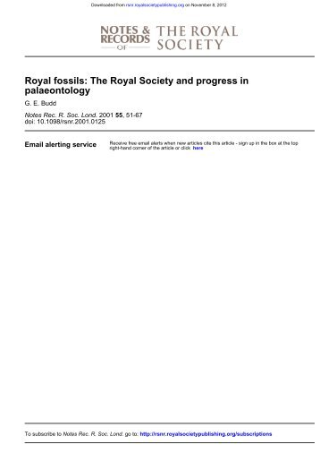 6. Budd - Notes and Records of the Royal Society