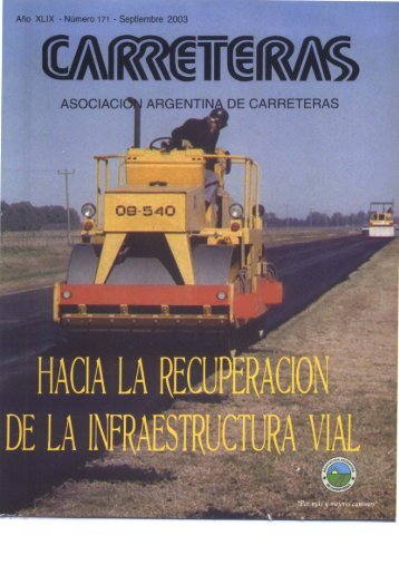 HACIA LA RECUPERAÜON - Asociación Argentina de Carreteras