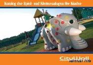 Katalog der Spiel- und Kletteranlagen für Kinder - CityWall
