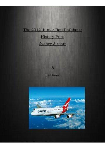 Sydney Airport - Rockdale City Council