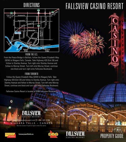 New years at fallsview casino riviera hotel and casino map