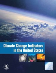 Climate Change Indicators in the United States - AMWA