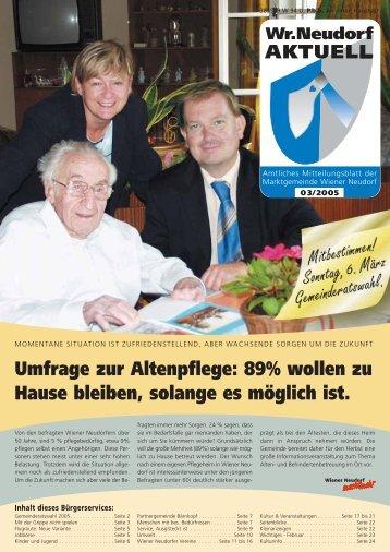 Umfrage zur Altenpflege: 89% wollen zu Hause ... - RiSKommunal