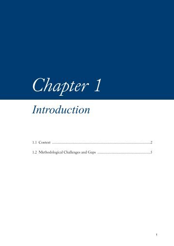 View chapter 1 [PDF 310.58 KB] - PreventionWeb