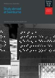 Study Abroad Guide - International Students - Swinburne University ...