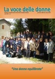 La voce delle donne - Unione Cristiana Evangelica Battista d'Italia