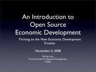 An Introduction to Open Source Economic Development - Missouri ...