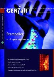 Last ned GENialt 3/2000 (pdf). - Bioteknologinemnda