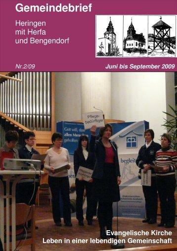 Gemeindebrief - Ev. Kirche Heringen