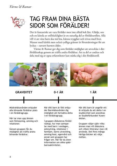 Folder Värme & Ramar föräldrastöd (pdf) - Emmaboda kommun