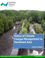 Status of Climate Change Management in Southeast Asia