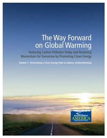 The Way Forward on Global Warming - Environment America