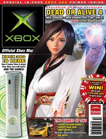 DEAD OR ALIVE 4 - Official Xbox Magazine