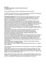 Referat generalforsamling 21-03-2007 - Albertslund Rideklub