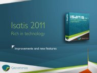 Isatis 2011 new features and improvements - Geovariances