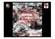 transfusion en situation d'exception 2009 - SMUR BMPM