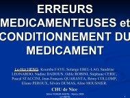 Erreurs médicamenteuses et conditionnement du médicament - ADIPh