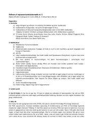 Referat af repræsentantskabsmøde nr. 5 - fadl.dk