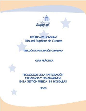 documento - Tribunal Superior de Cuentas