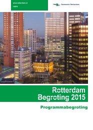 Begroting Rotterdam 2015