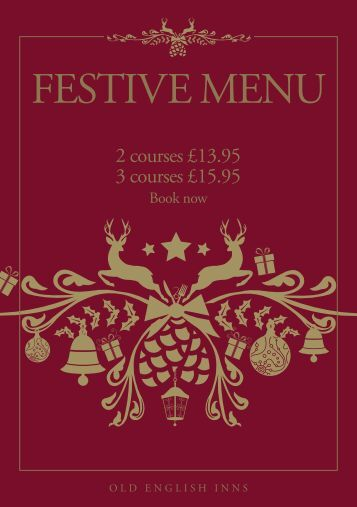 Old english inns christmas deals