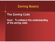 Zoning - Department of Building and Zoning Services, Columbus, Ohio