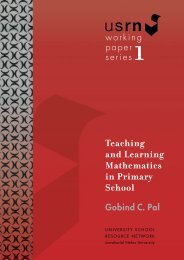 Teaching and Learning Mathematics in Primary School Gobind C. Pal