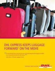 Luggage Forward Case Study - DHL