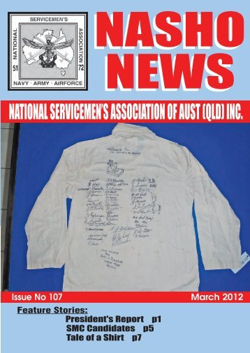Issue 107 - Nasho Front Page