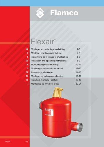 18501728 Instr. Flexair FC - Flamco