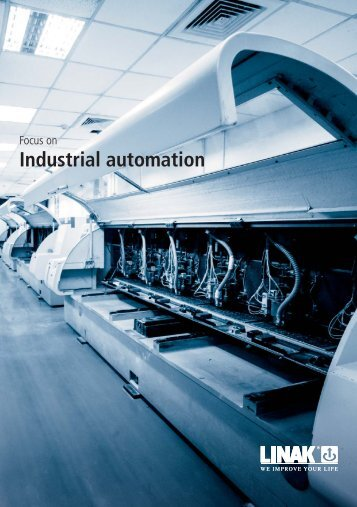 TECHLINE Focus on Industrial Automation - Linak