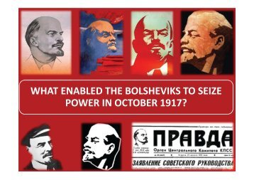 what enabled the bolsheviks to seize power in october 1917? - HTAV