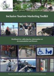 Inclusive Tourism Marketing Toolkit - Travability