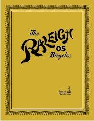 2005 Catalog - Raleigh