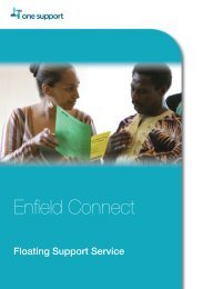 Enfield Connect - One Housing Group