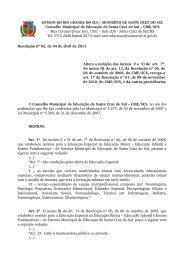 Resolução nº 02, de 04 de abril de 2011 - Prefeitura de Santa Cruz ...