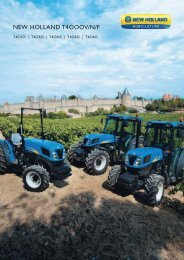 NEW HOLLAND T4OOOV/N/F