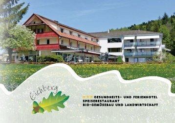 Das kulinarische Jahresprogramm - Eichberg