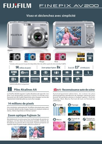 Documentation FinePix AV200.pdf