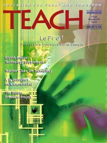 Le Prof Le Prof - TEACH Magazine