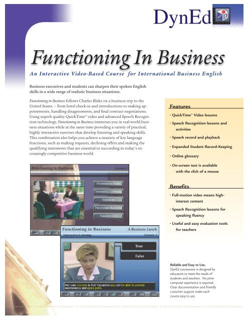 Learn Business English Amideast