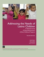 Addressing the Needs of Latino Children: A National Survey of State ...