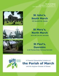 the Parish of March - Growing in Faith Together