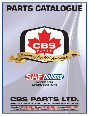 Landing Gear and Jackstands - CBS Parts Ltd.